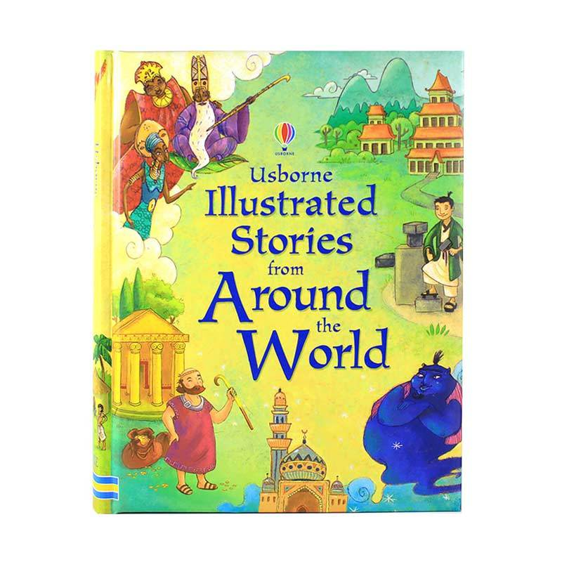 Usborne Books Illustrated Stories From Around The World Buku Anak