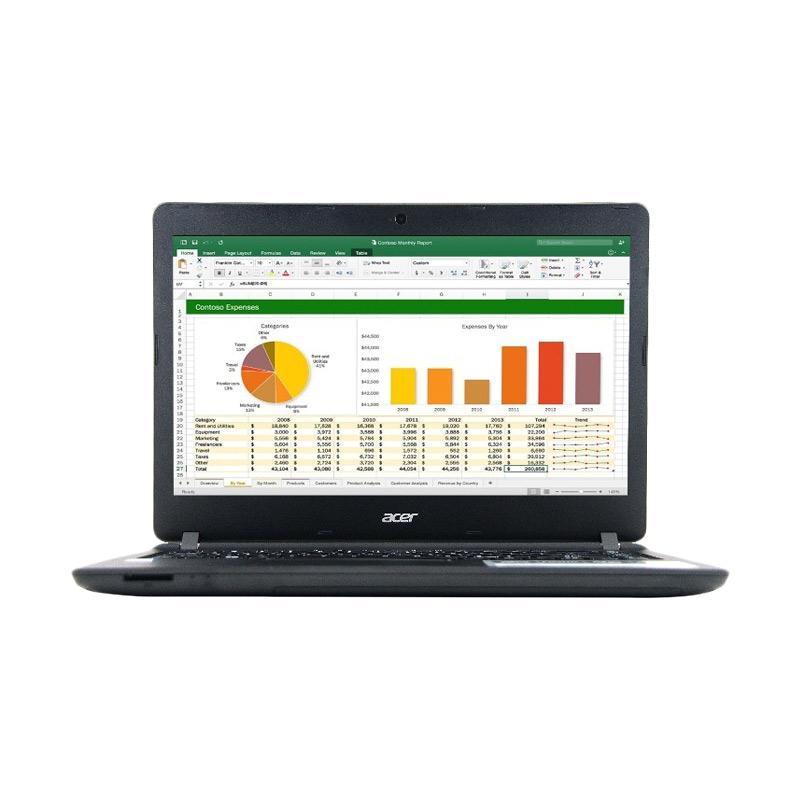 Acer ES1-432 Laptop - Black [2 GB/500GB/14