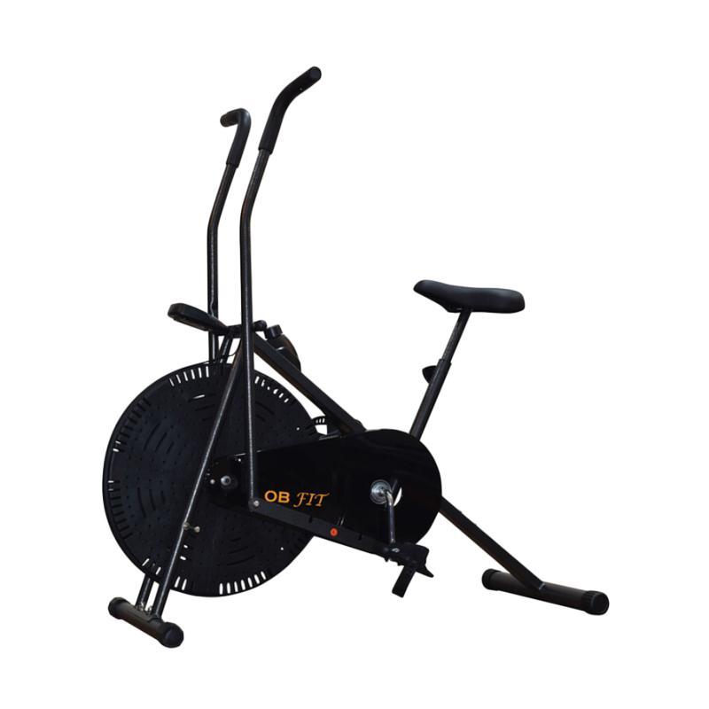 harga OB Fit New Sepeda Statis Dual Motion - Hitam [OB-6212] Blibli.com