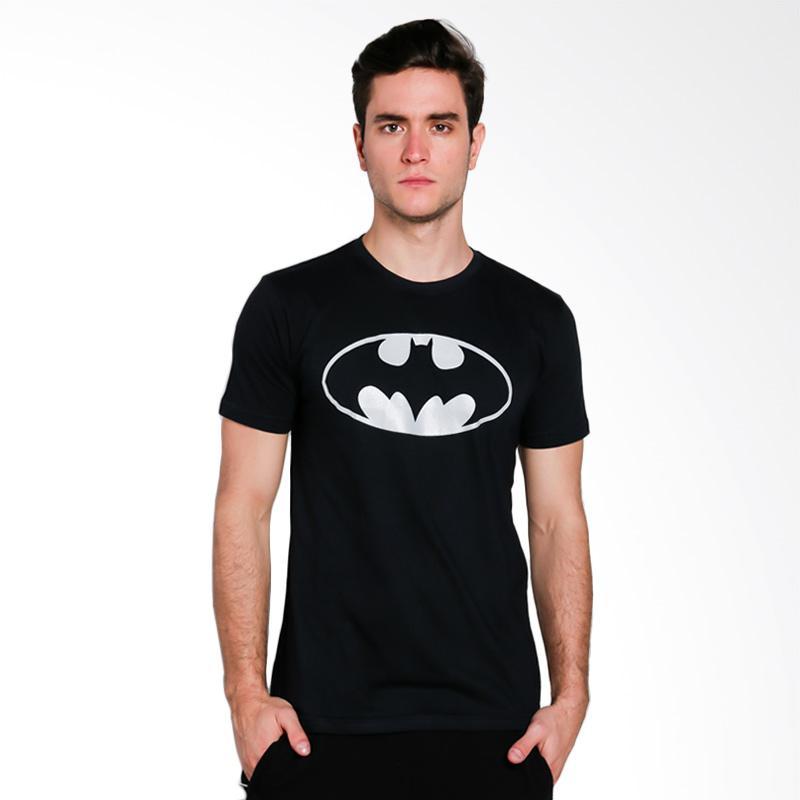 Hypestore Batman T-Shirt Pria - Silver [3251-7503]
