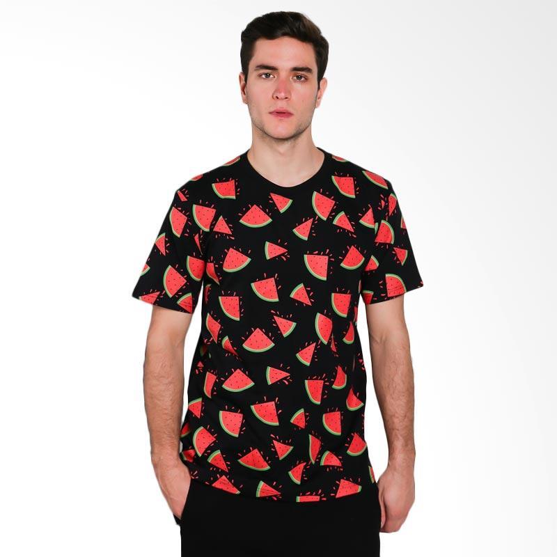 Hypestore Watermelon Full Print T-Shirt Pria [3015-8741]