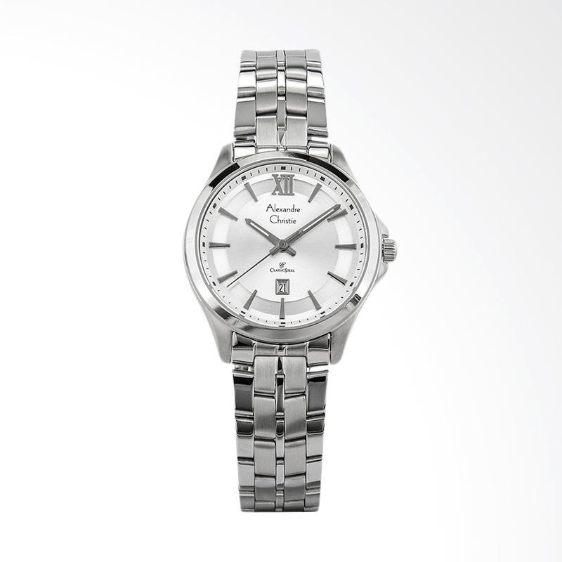 Alexandre Christie Classic Ladies AC 8530 LD BSSSL Jam Tangan Wanita - Silver