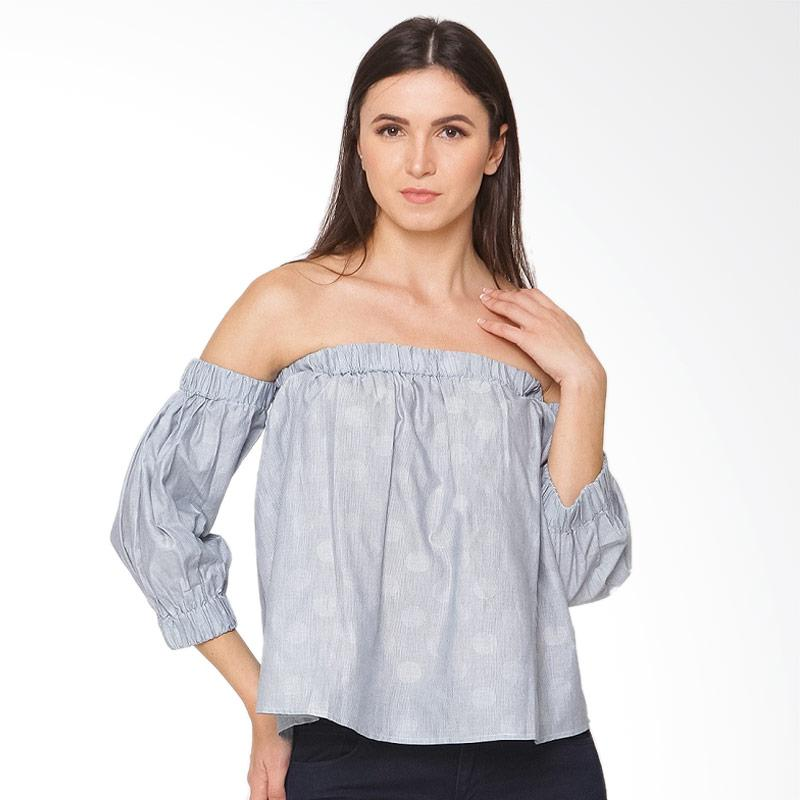 A&D Fashion Cold Shld Ms 963 Blouse - Grey
