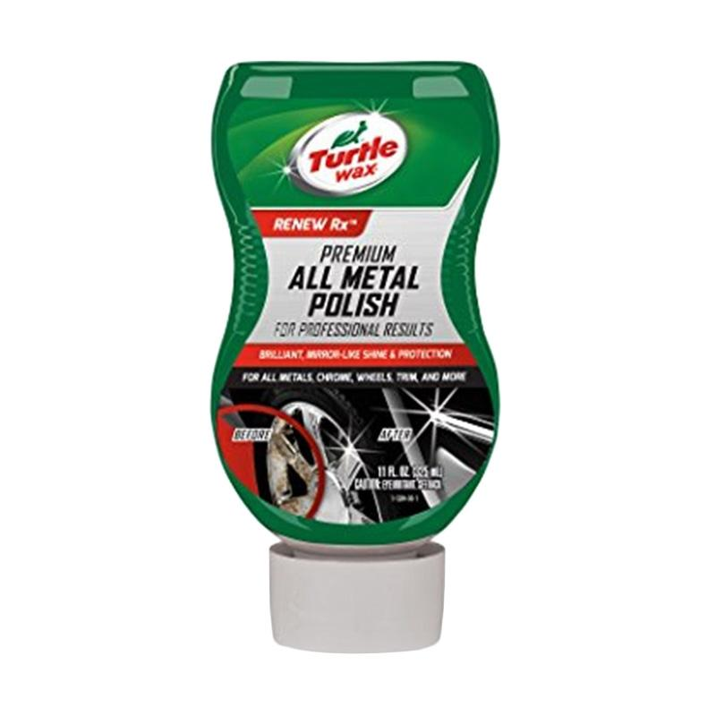 Turtlewax T-284 Liquid Premium All Metal Polish [325 mL]