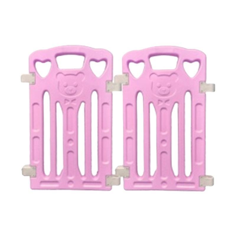 Coby Haus Bear New Minipack Pagar Pengaman Bayi - Purple
