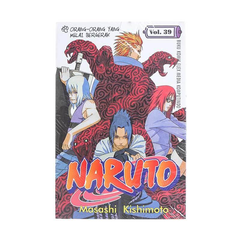 Elex Media Komputindo Naruto 39 200055087 by Masashi Kishimoto Buku Komik
