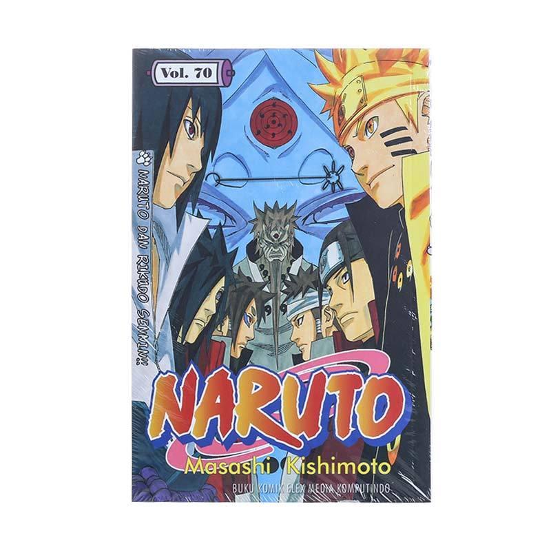 Elex Media Komputindo Naruto 70 715011657 by Masashi Kishimoto Buku Komik