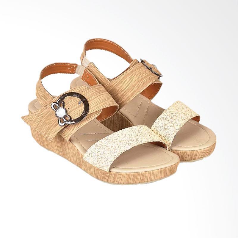 harga JAVA SEVEN JVS-BJI 673 Sepatu Wedges Wanita Blibli.com