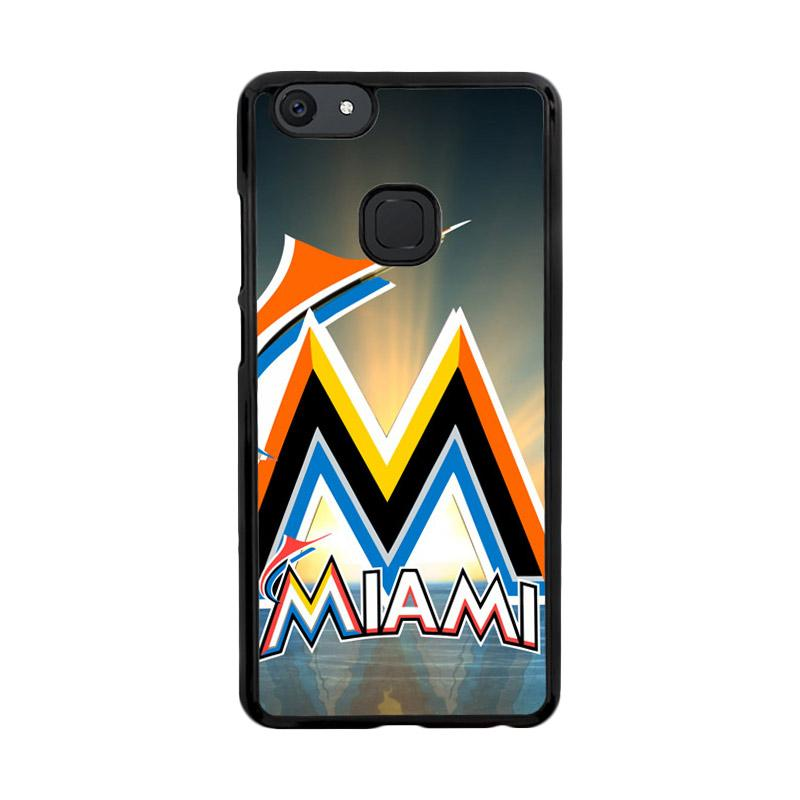 Flazzstore Miami Marlins Z3353 Custom Casing for Vivo V7