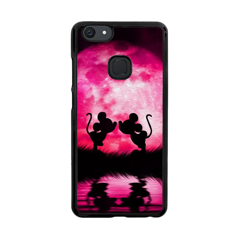 Flazzstore Romance Mickey And Mini Mouse O0660 Custom Casing for Vivo V7