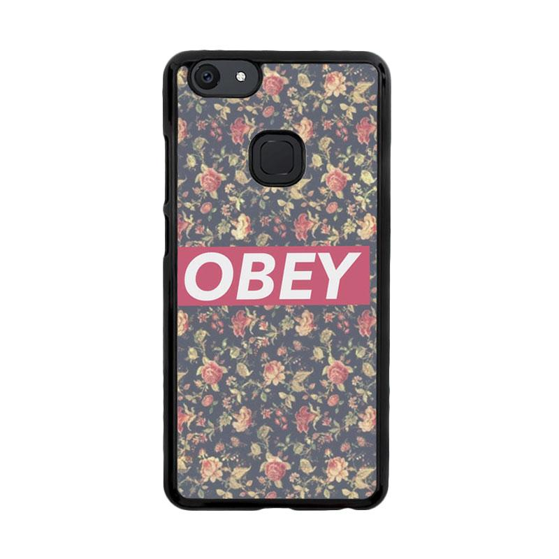 Flazzstore Obey Floral O0727 Custom Casing for Vivo V7