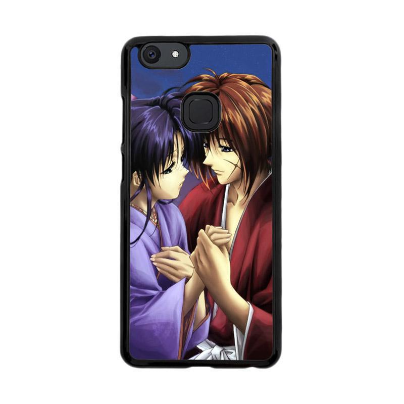 Flazzstore Samurai X Kenshin And Kaoru Z0701 Custom Casing for Vivo V7