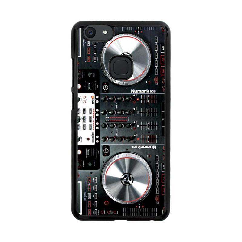 Flazzstore Digital Mixer Dj Turntable Electronic Music F0362 Custom Casing for Vivo V7