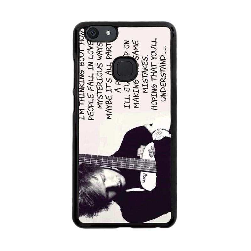 Flazzstore Thinking Out Loud-Ed Sheeran Lyric F0702 Custom Casing for Vivo V7