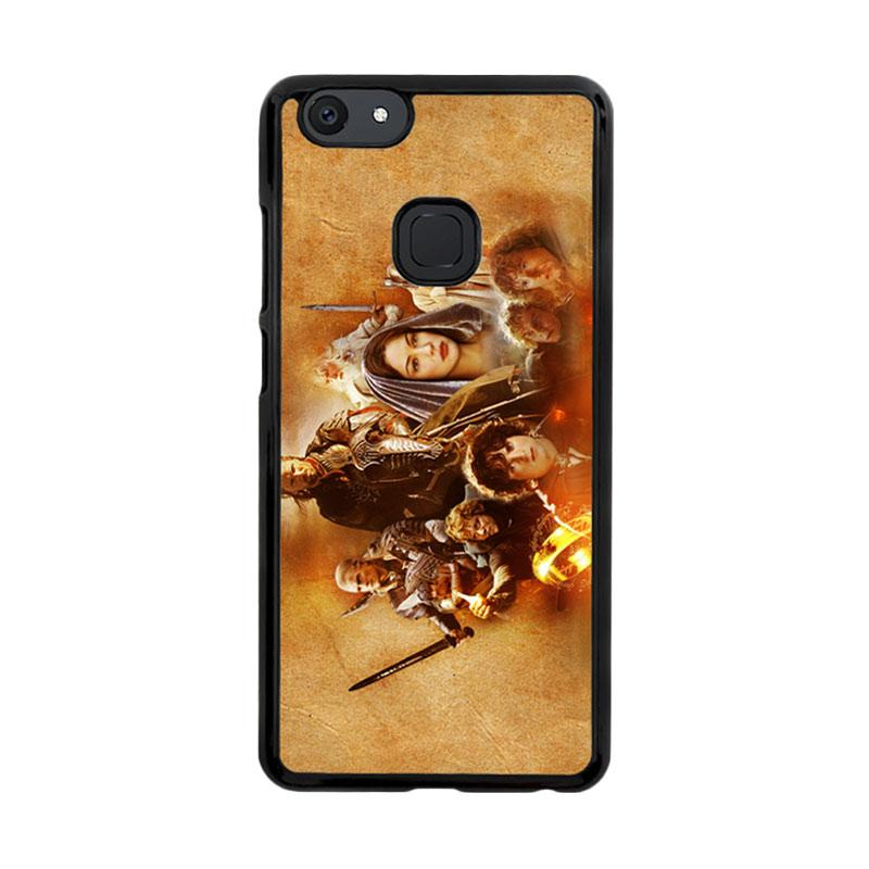 Flazzstore Hobbit Lord Of The Ring Lotr Art Z0105 Custom Casing for Vivo V7