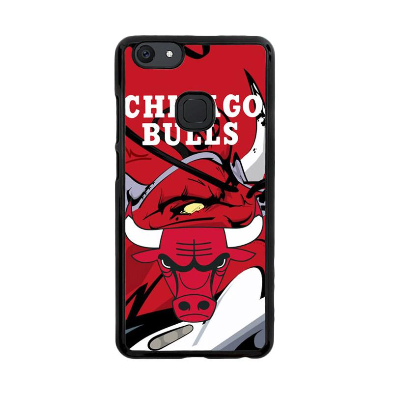 Flazzstore Chicago Bulls Logo X3168 Custom Casing for Vivo V7