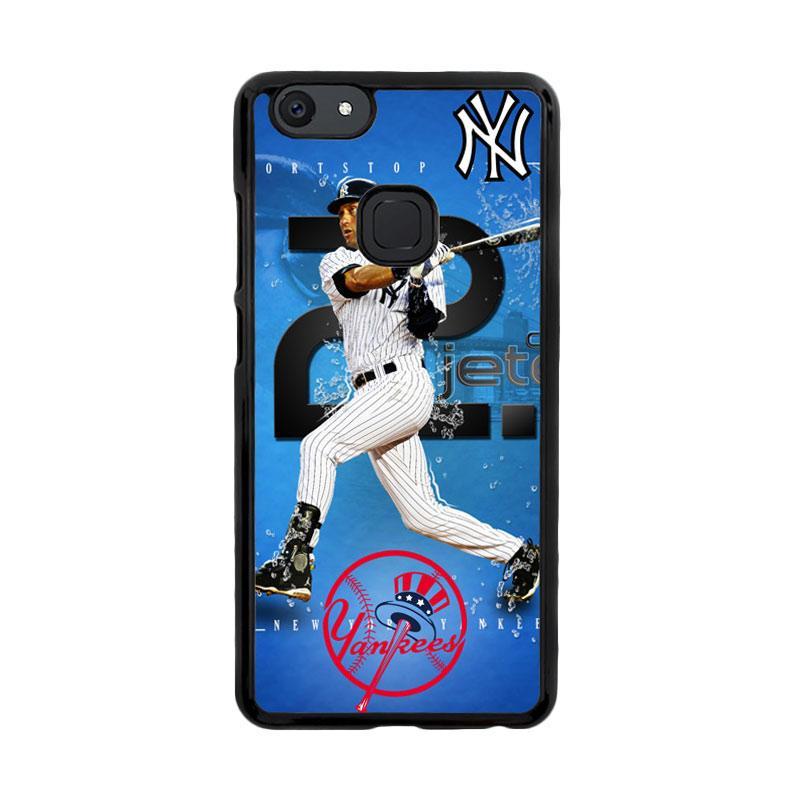 Flazzstore Derek Jeter New York Yankees X3297 Custom Casing for Vivo V7