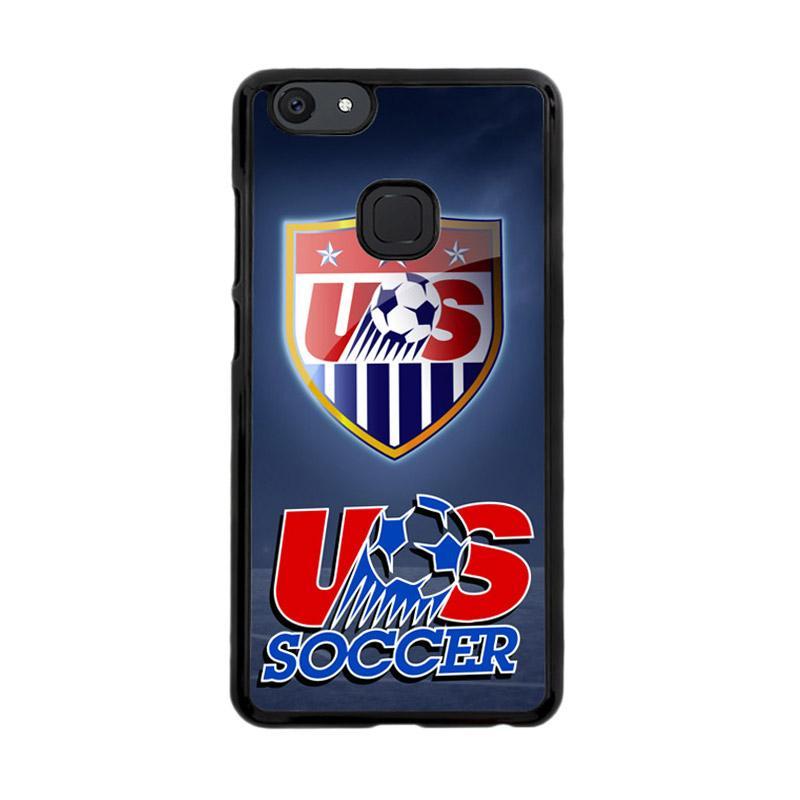 Flazzstore Us Soccer Logo X3293 Custom Casing for Vivo V7