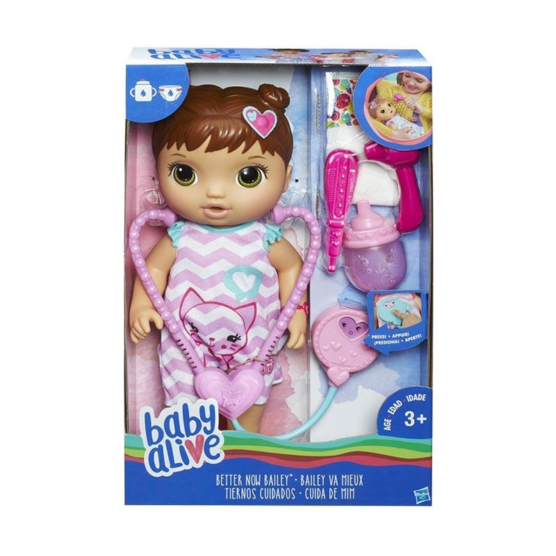 harga Baby Alive C2692 Better Now Bailey Brunette Doll Mainan Anak Blibli.com