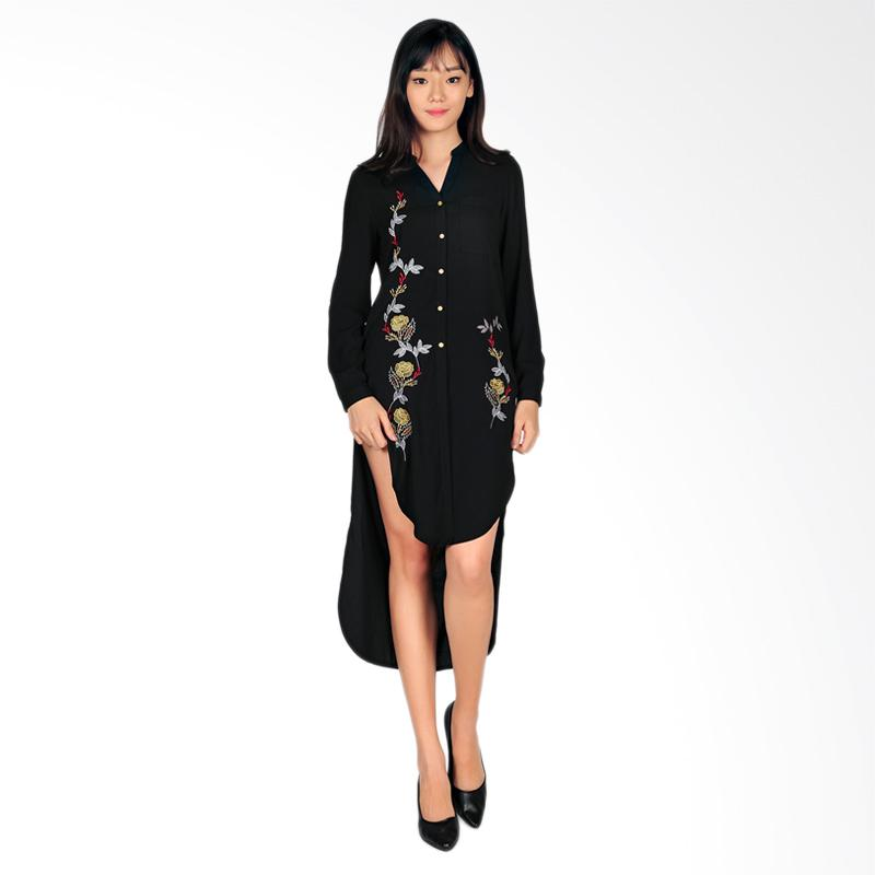 SJO & SIMPAPLY SJO Navora Women's Mini Dress - Black