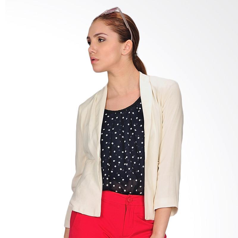 SJO & SIMPAPLY Selina Natural Women's Blazer