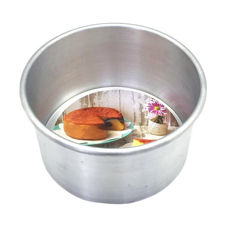harga Kiwi Bulat Pressed Loyang - Perak [Diameter 16 cm/ Tinggi 9 cm] Blibli.com