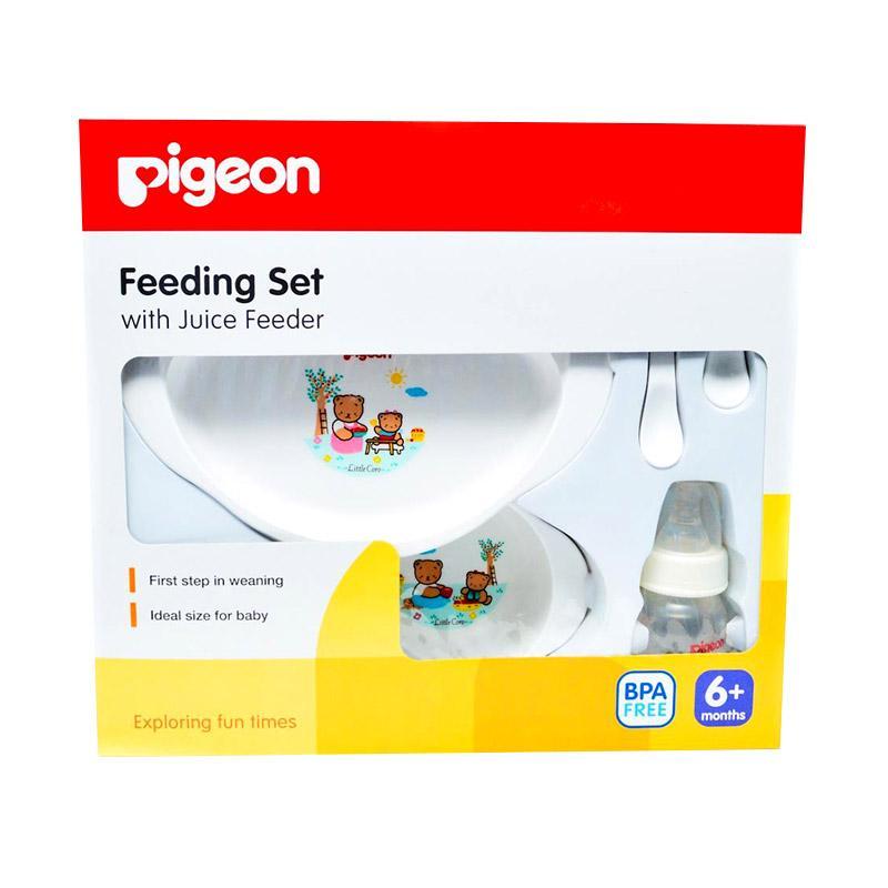 harga Pigeon Feeding Set With Juice Feeder Paket Perlengkapan Makan Blibli.com