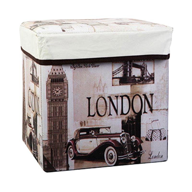 Nadaga Box Duduk Kotak Penyimpanan Box Mainan Tempat Penyimpanan Source · Produk Homestuff Motif London Storage Chair Box Kotak Serbaguna Terbaru