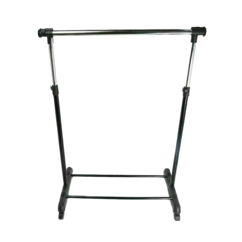 Krisbow garment rack single Extandable - Hitam