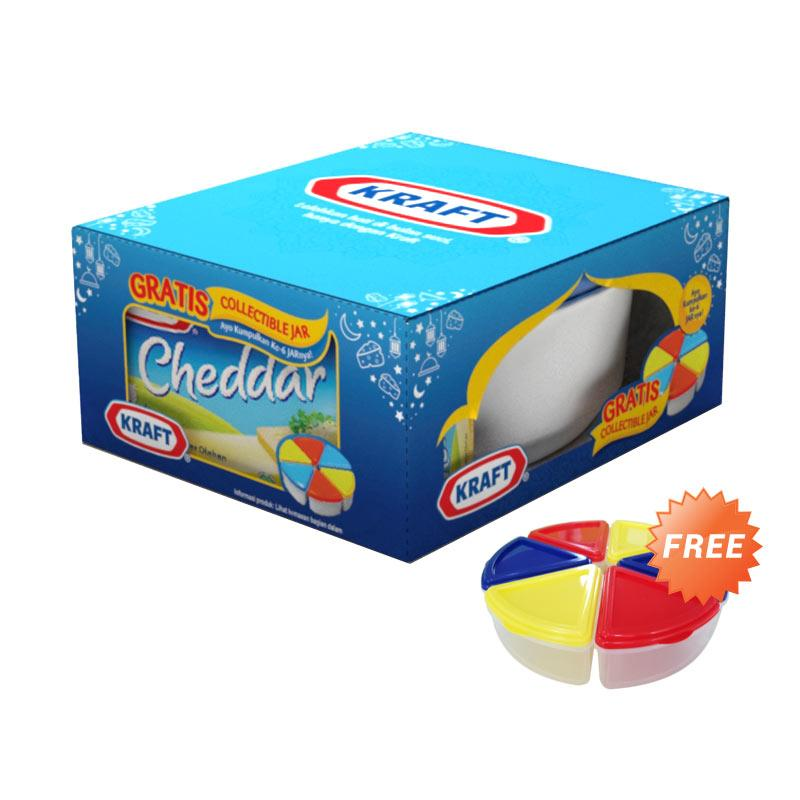 harga Festive Buy 1 Kraft Cheddar [175 g] + Free Small Jar Blibli.com