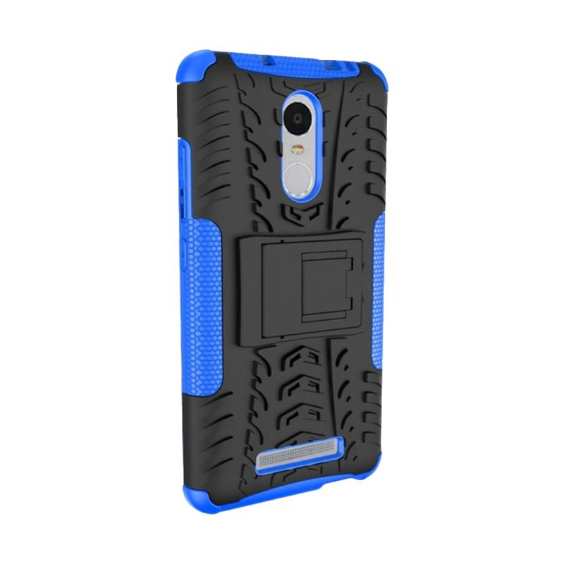 HEAVY PEDAL Armor Rugged Hybrid Casing for Xiaomi Redmi Note 3 - Blue