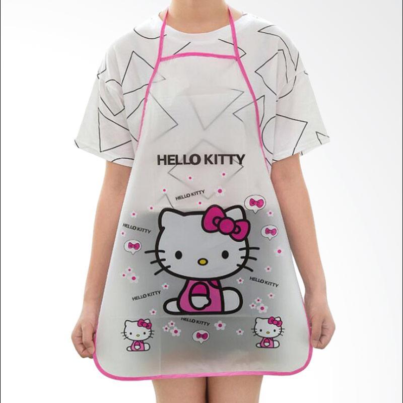 28fashion Karakter Hello Kitty Waterproof Celemek Dapur