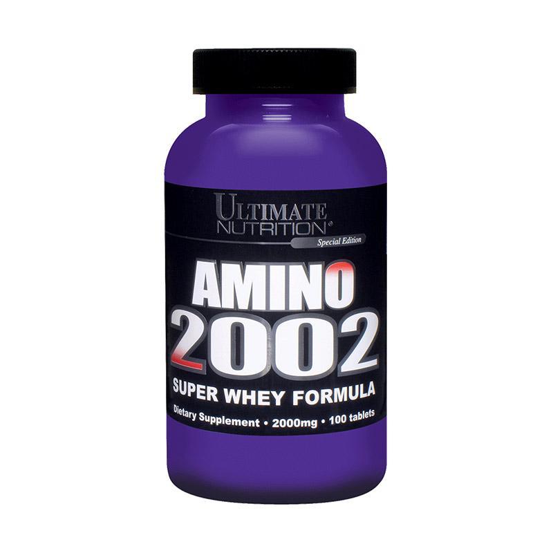 Ultimate Nutrition Amino 2002 Suplemen [100 Tabs]