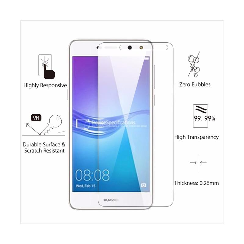 QCF Tempered Glass Full Cover Xioami Redmi 5 Plus Pelindung Layar Full  Xiaomi Redmi 5 Plus Screen Protector Full Cover Xiaomi Redmi 5 Plus - White