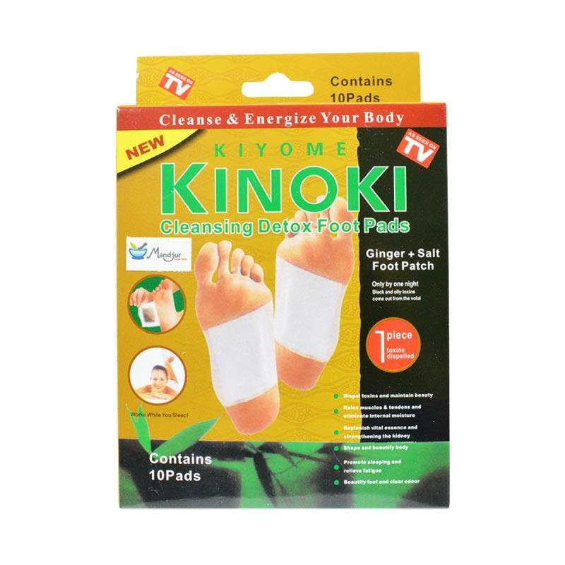 Jual Kinoki Kiyome Cleansing Detox Foot Pads - Gold Terbaru - Harga Promo Juli 2019 | Blibli.com