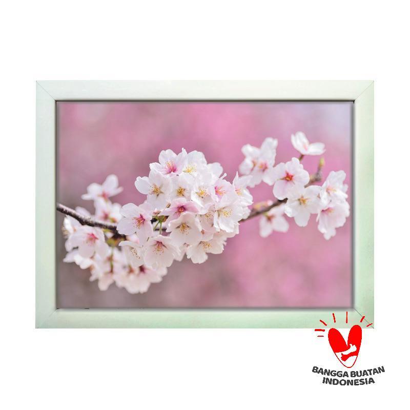 Jual Pegasus Art Motif Bunga Sakura Hiasan Dinding  8R  Online - Harga    Kualitas Terjamin  2555e82c08