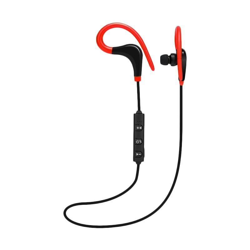 Jual Bt 1 Fashion Wireless Sport Ear Hanging Earphones Bluetooth Headset With Mic For Phones Online September 2020 Blibli Com