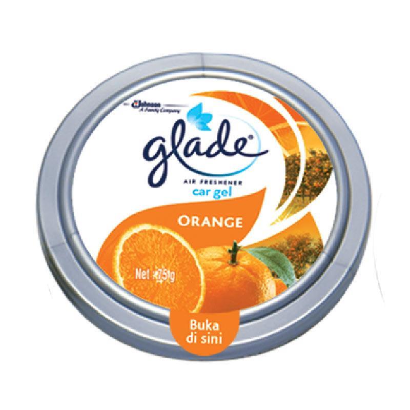 Jual Glade Car Gel Orange Pengharum Mobil 75 G Online Februari 2021 Blibli