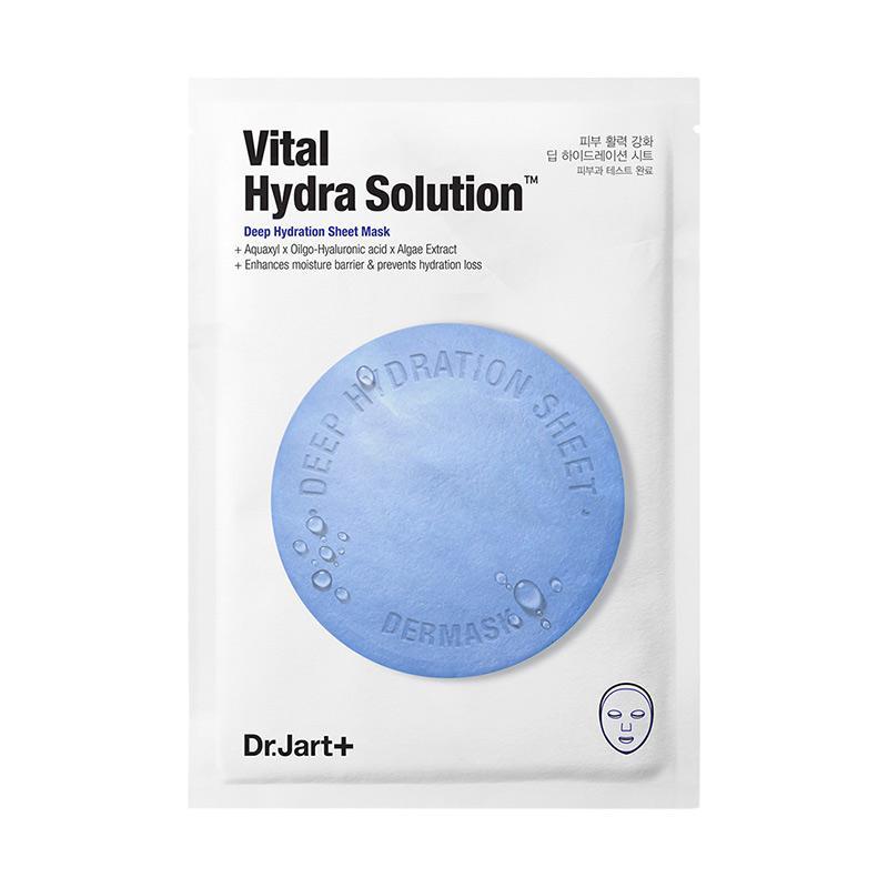 Dr Jart Dermask Water Jet Vital Hydra Solution Mask Sheet Masker Wajah