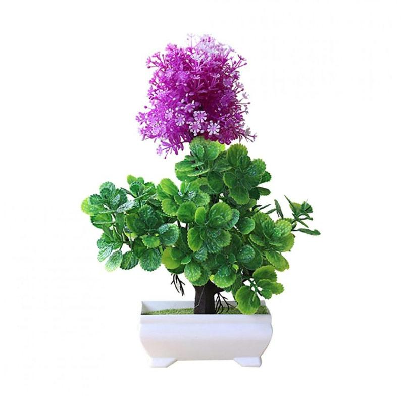Jual Bluelans Garden Decoration Artificial Bonsai Plant Tree Flower Ornament Home Decor Type 1 1pc Online Desember 2020 Blibli