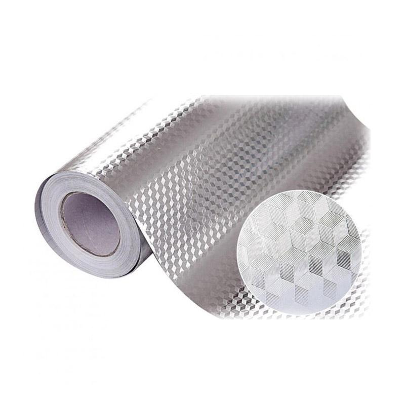 Jual Bluelans Aluminum Foil Self Adhesive Waterproof Wallpaper