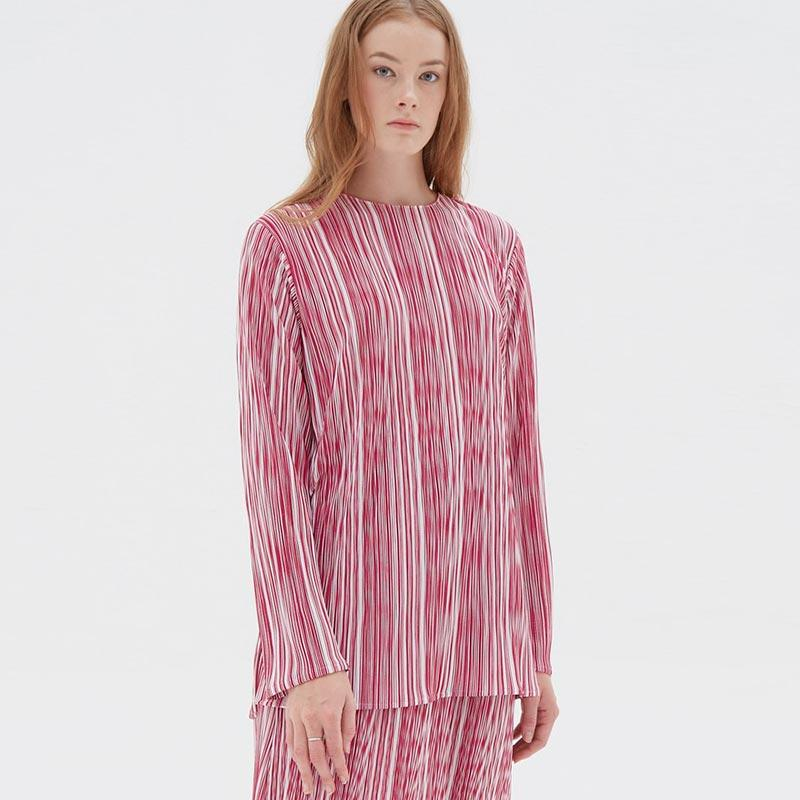 Shopatvelvet WD330 Blouse Wanita Reds