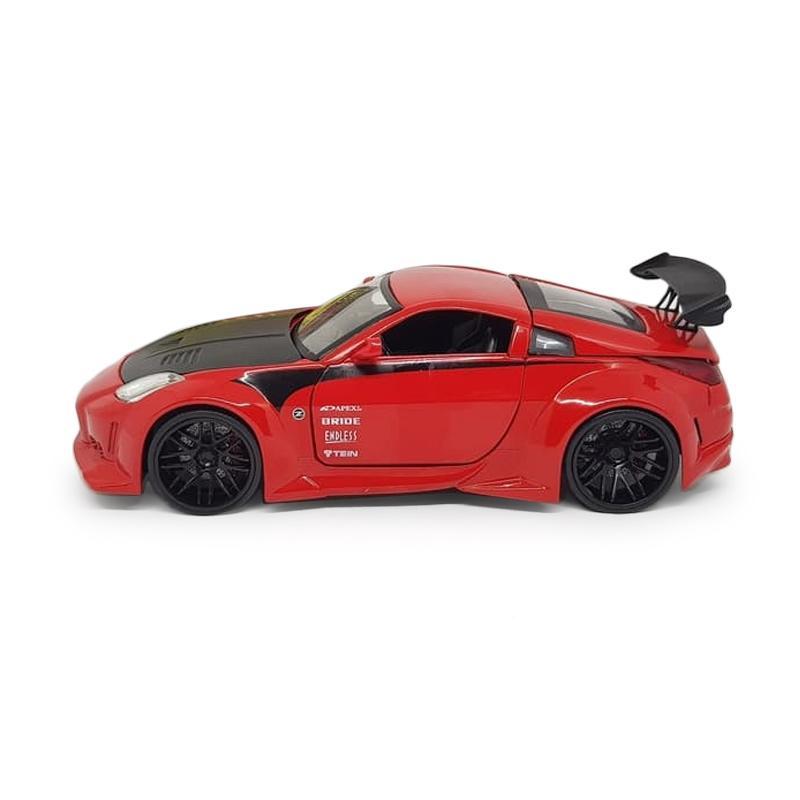 Jual Jada Nissan 350Z JDM Tuner Diecast - Merah [1:24