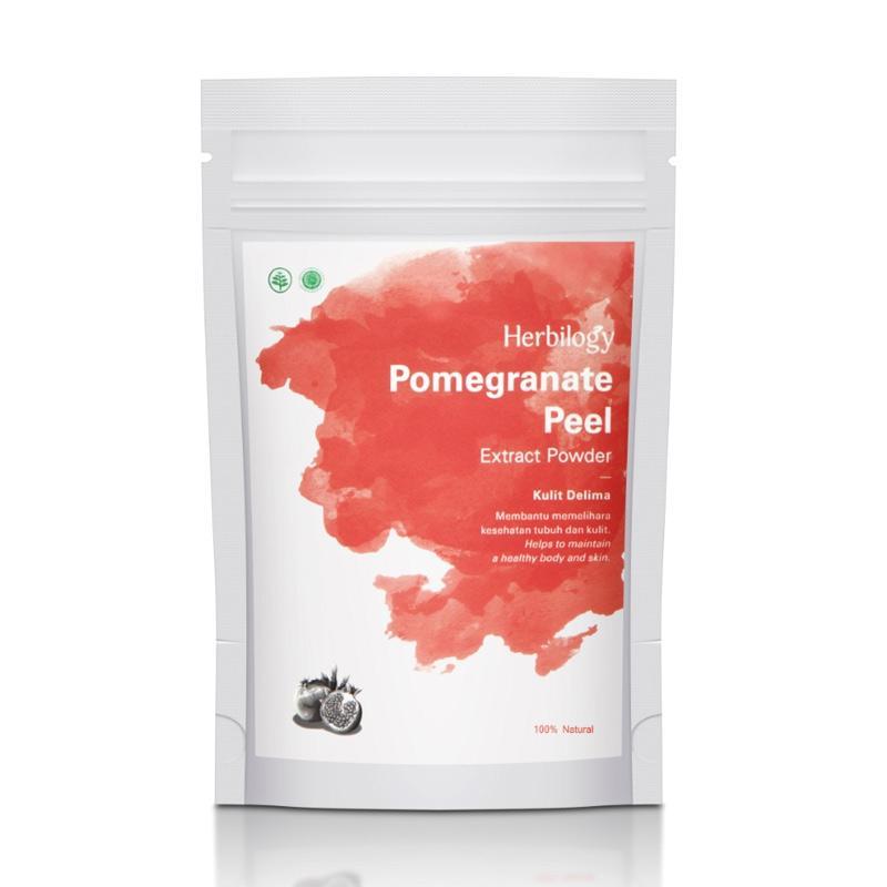 Herbilogy Pomegranate Peel Extract Powder Minuman Kesehatan