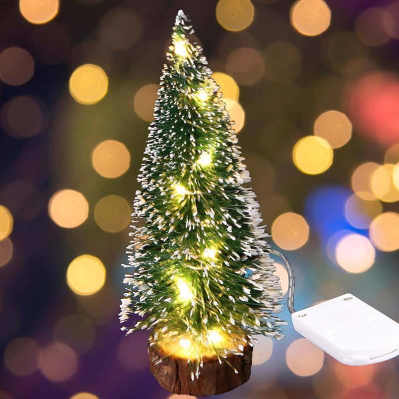 Jual Bluelans Mini Christmas Tree With Led String Light Lamp Home Office Party Desktop Decor 30 Cm Online Oktober 2020 Blibli Com