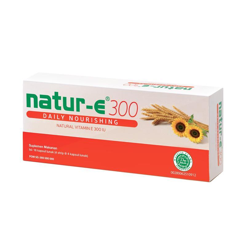 Natur E Nourishing 300IU Suplemen