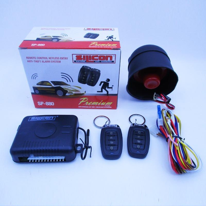 Hasil gambar untuk Alarm Mobil silicon sp880