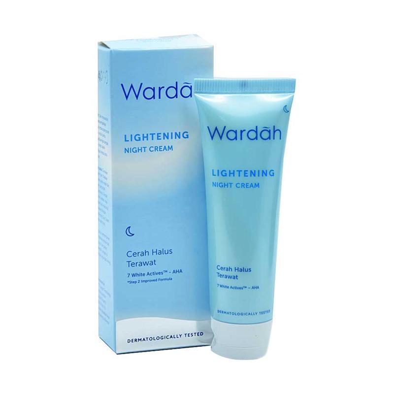 Jual Wardah Lightening Night Cream 20 Ml Online April 2021 Blibli