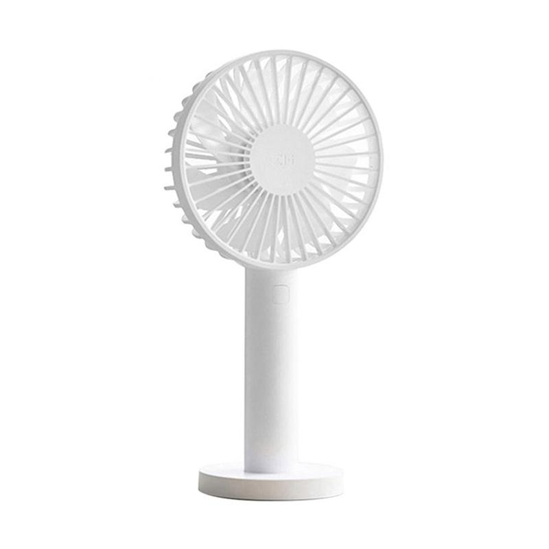 Color : Green USB Table Desk Personal Fan Cute Kitty Portable Handheld Fan USB Charging Small Desktop Silicon Soles Military Training for Home Office Table