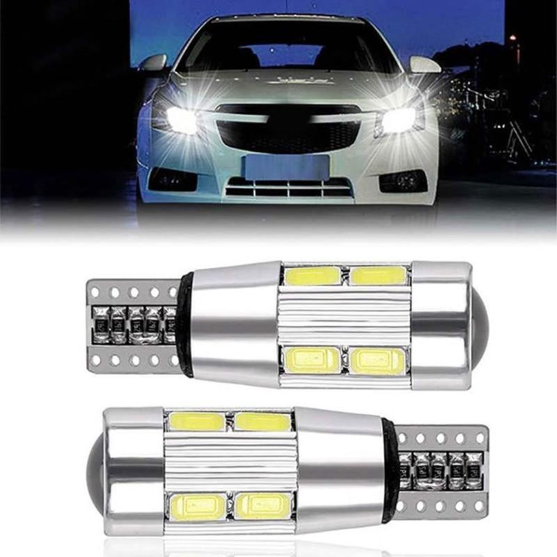 Led Auto Lights >> Jual Bluelans 2pcs T10 W5w 5630 10led Canbus No Error Auto